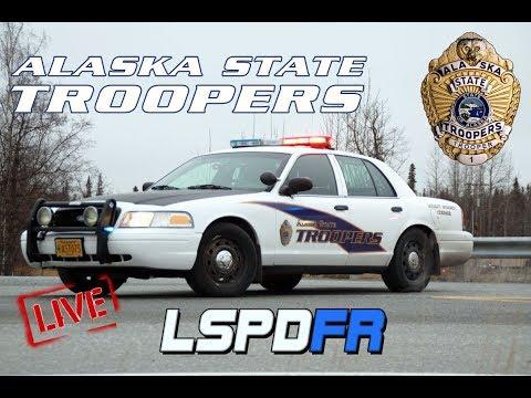 GTA 5 LSPDFR - Alaska State Troopers - Live Radio