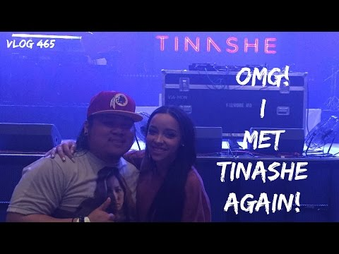 Meeting Tinashe AGAIN! Silver Spring, MD 3-16-16 (Vlog #465)