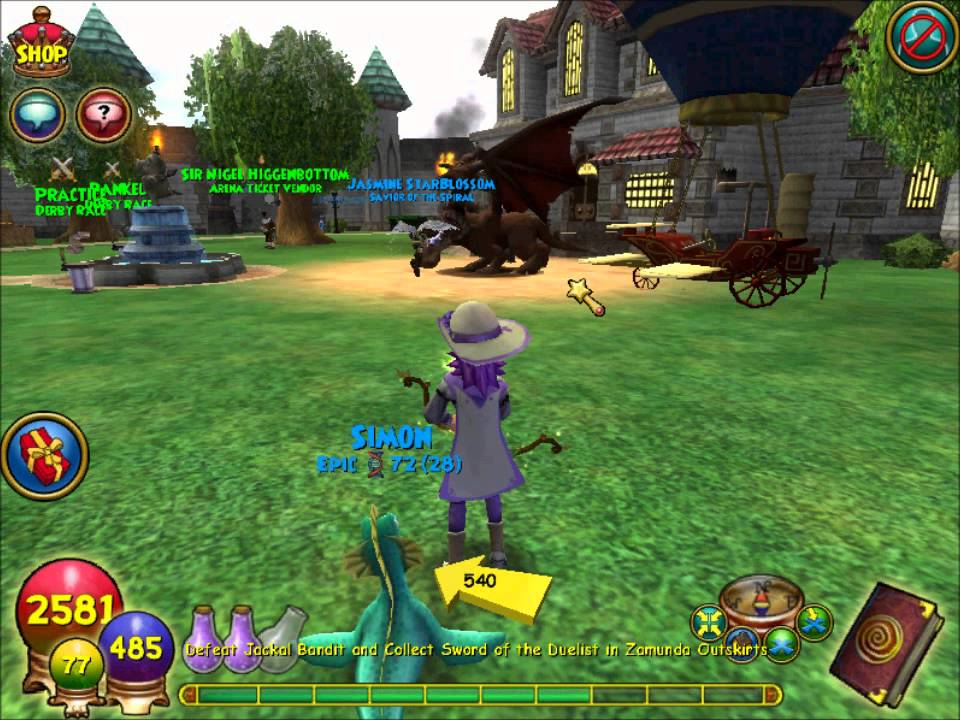 MsCourtneyOlivia's Wizard101 Specials: The Hydra Hoard Pack