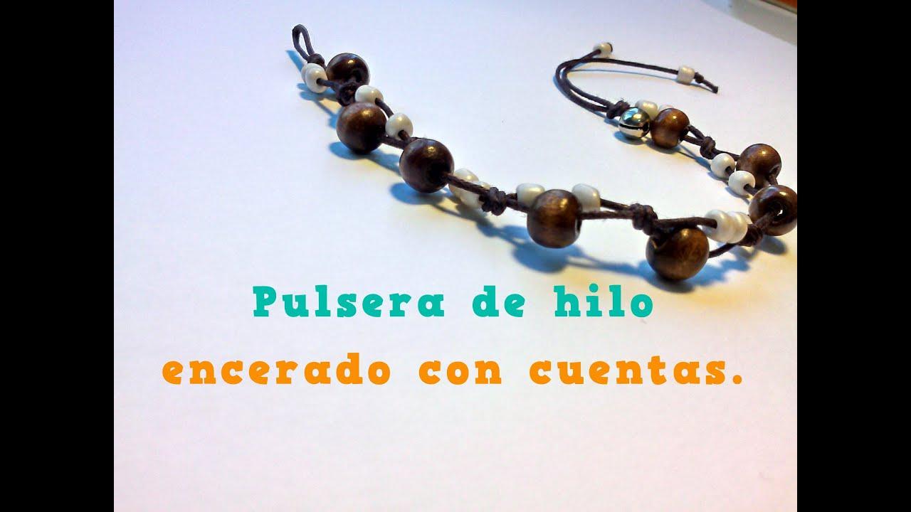 44d3bc2739b1 DIY Pulseras con nudos planos y bolas YouTube My Style