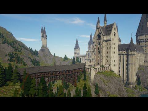 Besök Hogwarts i Minecraft med Witchcraft and Wizardry! Upplev Harry Potters värld på helt nytt sätt