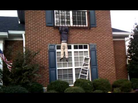 Funny Prank Dummy Hanging From Roof Youtube
