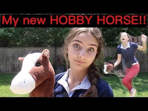 I GOT ANOTHER HORSE!! :o (HOBBY HORSE VLOG)