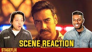 Simmba - Ajay Devgn Entry Scene Reaction   Ranveer Singh   Stageflix