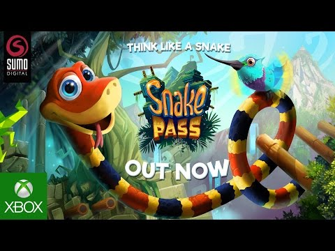 Snake Pass Xbox One Launch Trailer (2017)