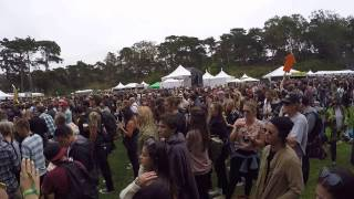 Outside Lands 2016 checking out Panhandle stage