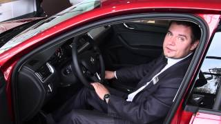 Обзор автомобиля Skoda Rapid(Команда портала autodrive.ru представляет Вашему вниманию собственный видео обзор автомобиля Skoda Rapid, 2014 года..., 2014-08-22T06:28:04.000Z)
