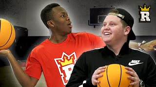 KSI & Behzinga: Half Court Challenge | Rule'm Sports