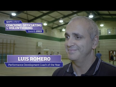 Performance Development Coach of the Year - LUIS ROMERO