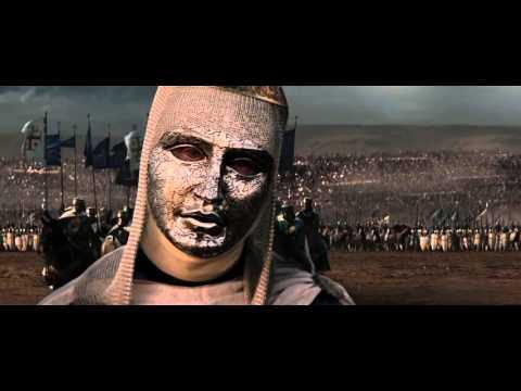 From Kingdom of Heaven Film 2005-  Baldwin IV of Jerusalem and Saladin
