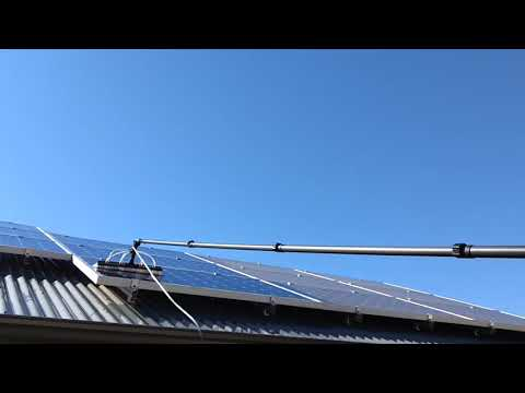 Cleaning Solar Panels in Berri S.A