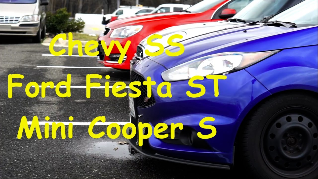 Chased By A Mini Cooper S Ford Fiesta St
