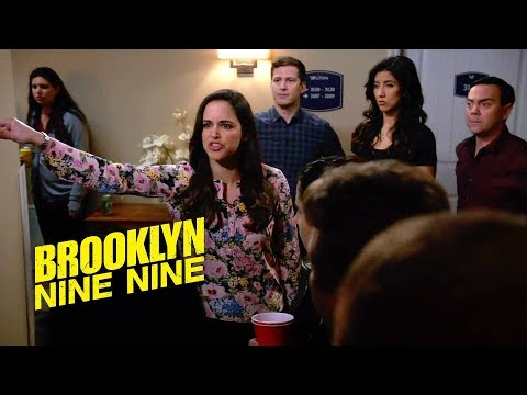 Squad Hides Party From Holt | Brooklyn Nine-Nine