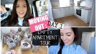 MOVING OUT : Day 1 | Empty Apartment Tour | PlanetGabb ♡