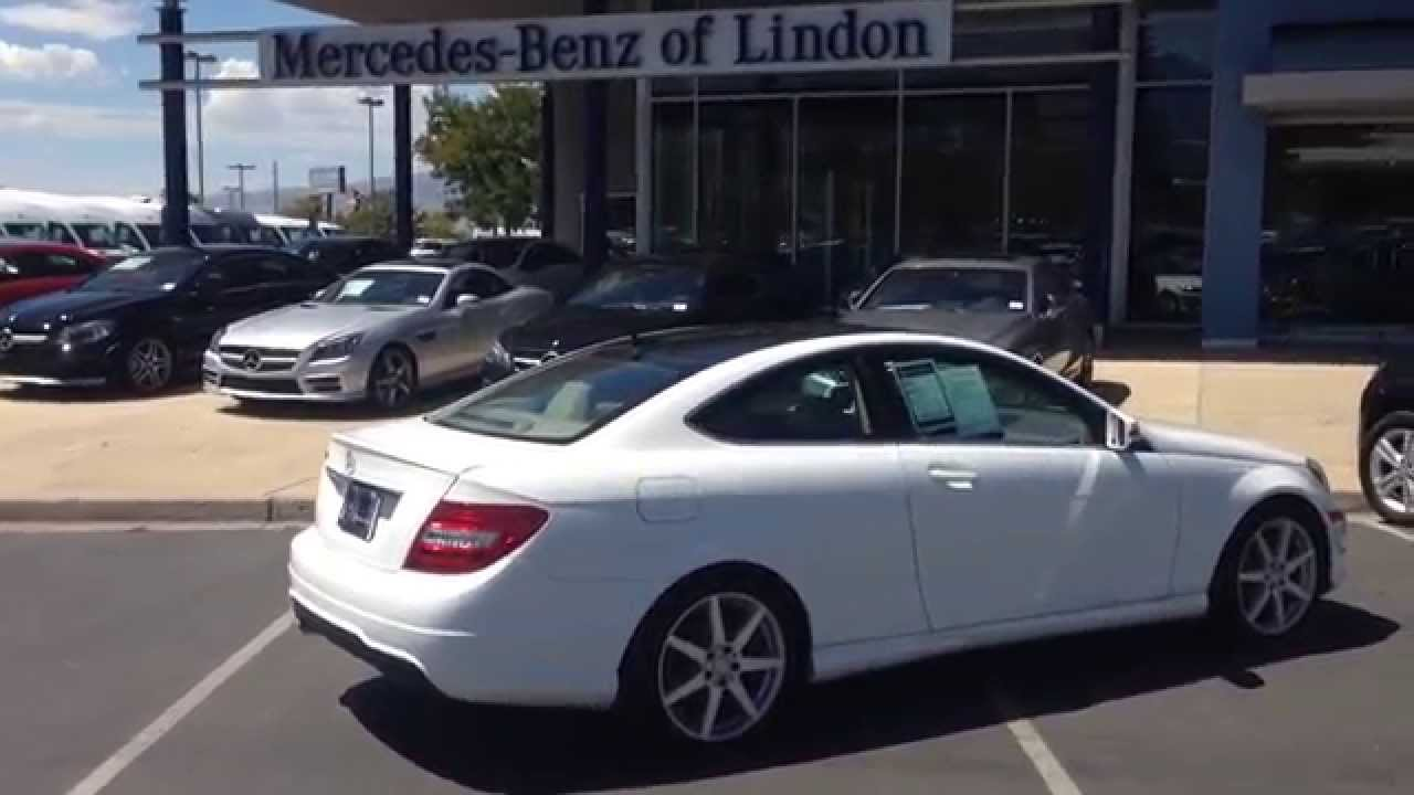 mercedes benz 2014 c250 coupe eg187381 mercedes benz of lindon. Cars Review. Best American Auto & Cars Review