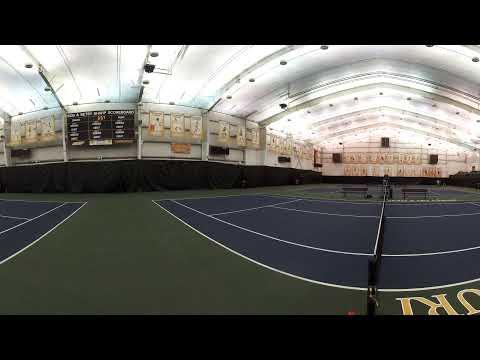 Indoor Tennis Court 360 VR Tour