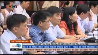 VTV ban tin Tai chinh sang 12 08 2014