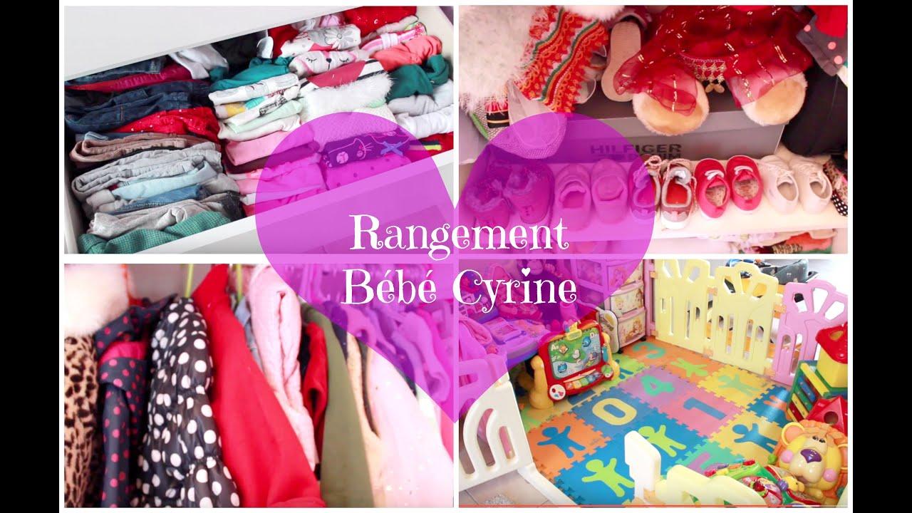 Rangement chambre et jouets de bébé