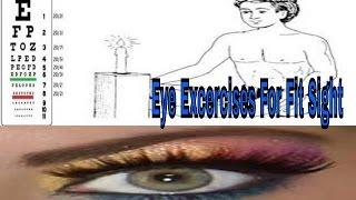 Eye Excercises|Improve Eyesight Vision Naturally At Home