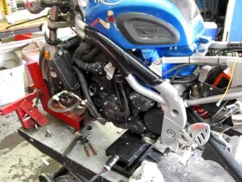 2001 triumph speed triple 955 motor w/ turbo kit,parts and motor