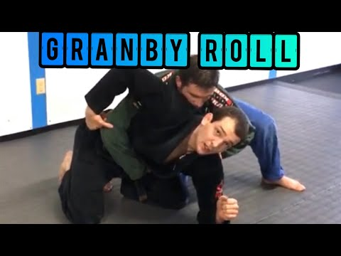 How to roll and escape the turtle position in BJJ/MMA- the Granby roll