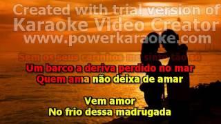 karaoké AMADO BATISTA E CALYPSO QUEM AMA NÃO DEIXA DE AMAR