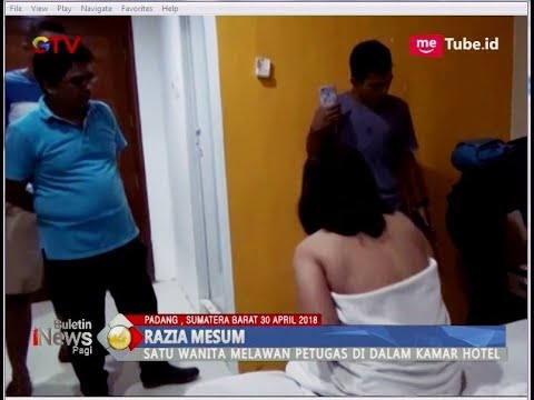 Razia Mesum, Wanita Ini Hanya Pakai Handuk Hotel - BIP 30/04