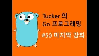 컴맹을 위한 Go 언어 프로그래밍 기초 강좌 50 - 마지막 강좌