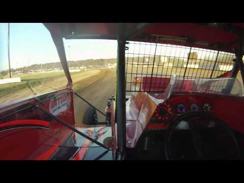 Chris Hile 5H Big Block Modified - Canadaigua Speedway Heat Race 4-19-14