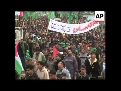 Israeli hurt in shooting, Hamas marks election win
