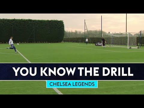Attempting To Score WONDER VOLLEYS! | Chelsea Legends | You Know The Drill