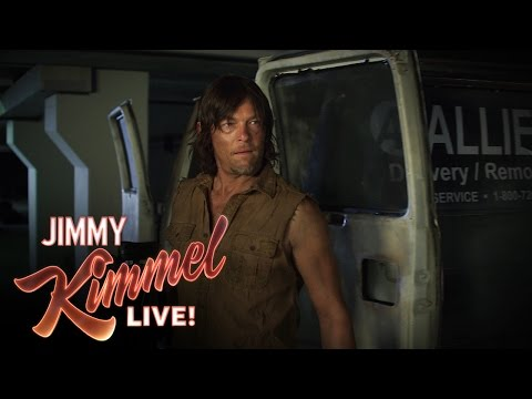 The Walking Dead's Norman Reedus vs. Hoverboard Zombies