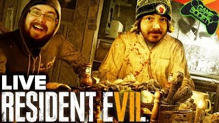 Live Resident Evil 7: Biohazard and Aaron Birthday Stream (with cake)