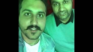 Lakhwinder wadali saab supporting Jatinder Bhaluria's ishq kahani