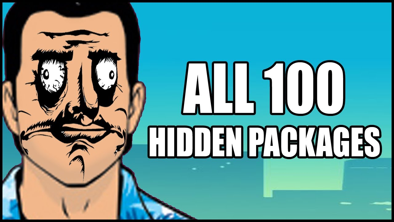 GTA Vice City  ALL 100 Hidden Packages  YouTube