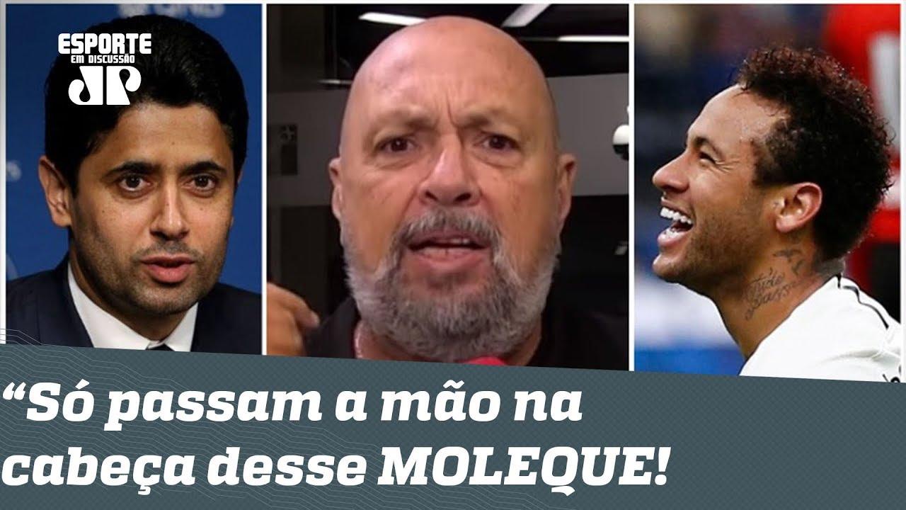 PSG DEFENDE Neymar e REVOLTA narrador: