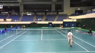 東海学生選抜室内テニス選手権大会 〇日下大暉(中央大学)6‐7(4) ...