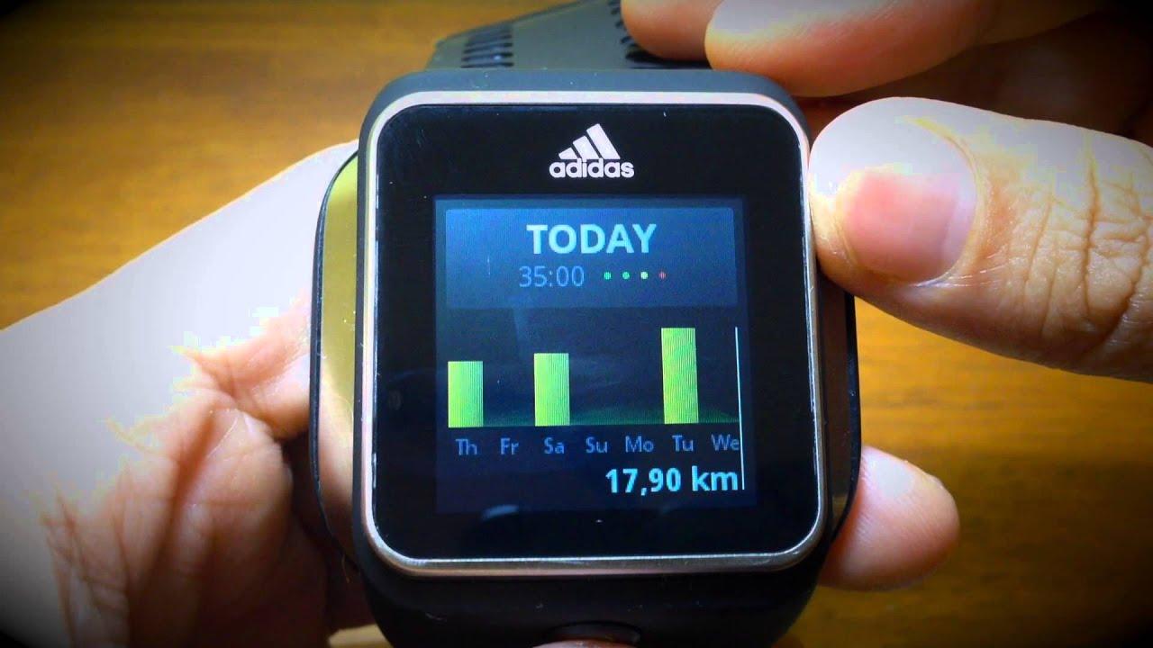824edcae4b0 Hands on Adidas Micoach Smart Run - YouTube