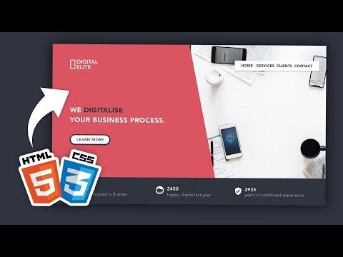 Créer Un Site Web En HTML/ CSS Pour Les Vrais Débutants