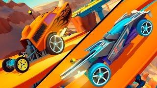 НОВЫЕ ИЗБРАННЫЕ ТАЧКИ! Опасные гонки на машинках ХОТ ВИЛС Мультик для детей Игра Hot Wheels Race Off