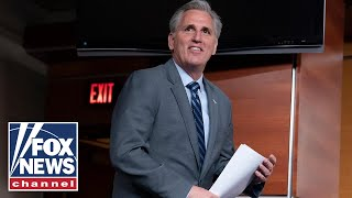 McCarthy speaks after Pelosi announces vote to limit Trump