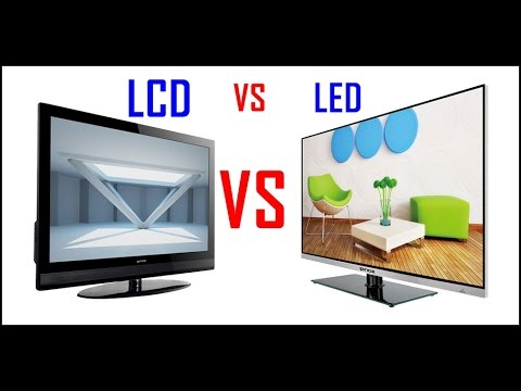 difference between lcd and led display english youtube. Black Bedroom Furniture Sets. Home Design Ideas