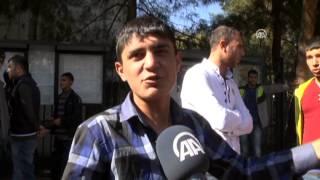 Anadolu Ajansı - Askere gitmek için kuyruğa girdiler