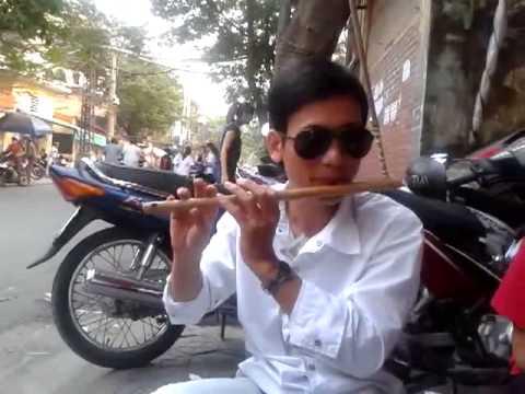Tiếng hát giữa rừng Pác bó - sáo trúc Cao Trí Minh.CLB sáo trúc Hải Phòng