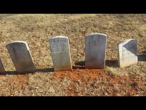 Exploring Prospect Hill Cemetery Battle of Front Royal Va