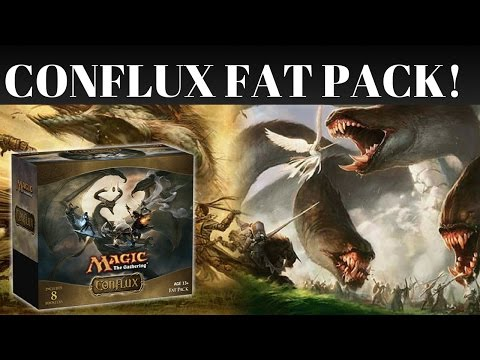 CONFLUX FAT PACK OPENING!  ZOIKS!