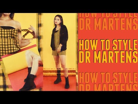 How to Style Docs / Dr Martens