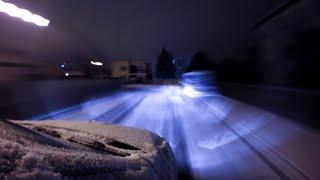 GoPro HERO4 timelapse 4K: Rzeszow - car Night Lapse • 1