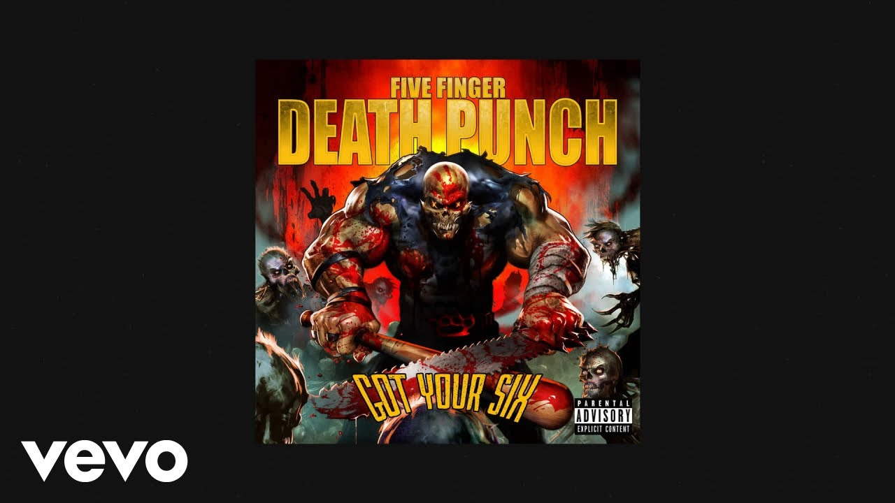 Five Finger Punch Question Everything Official Audio