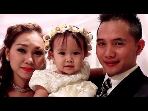 Trang trí tiệc cưới - Quang & Dung - nhà hàng Sinh Đôi